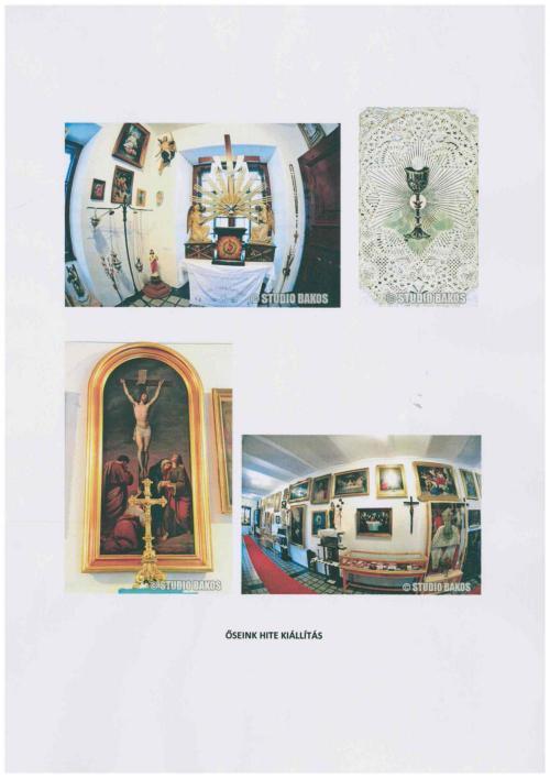 11. Március 6-ig befogadott javaslat: Őseink hite c. katolikus egyházi kiállítás