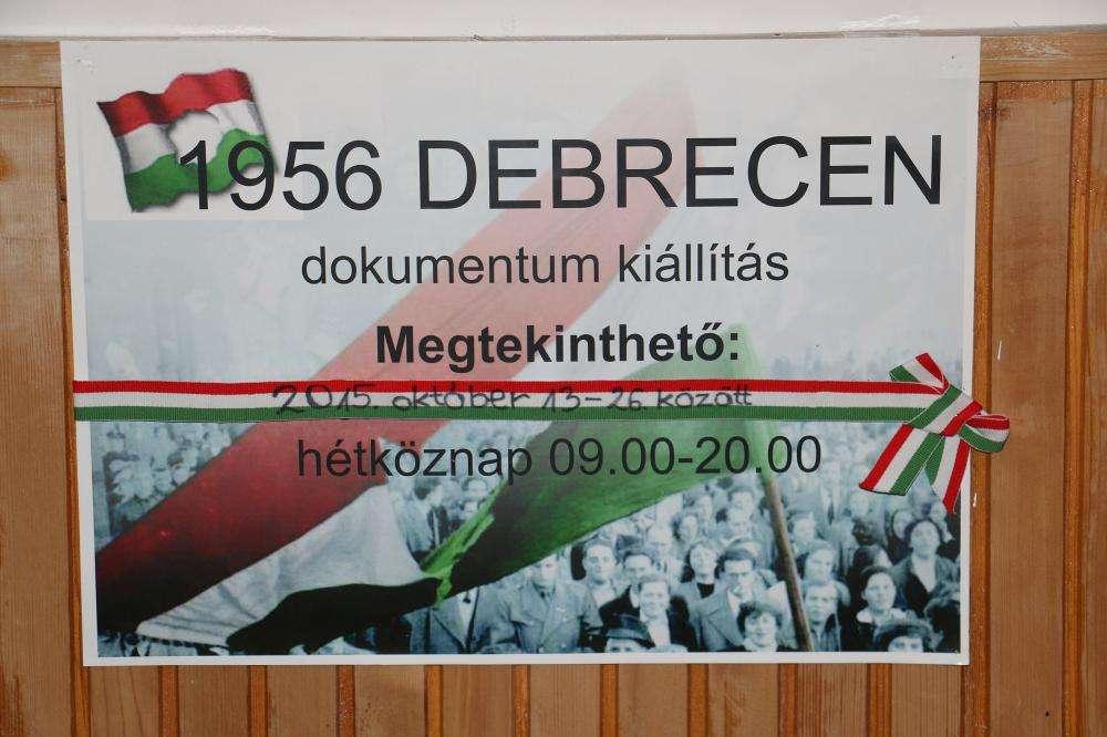 1956 DEBRECEN - DOKUMENTUMKIÁLLÍTÁS