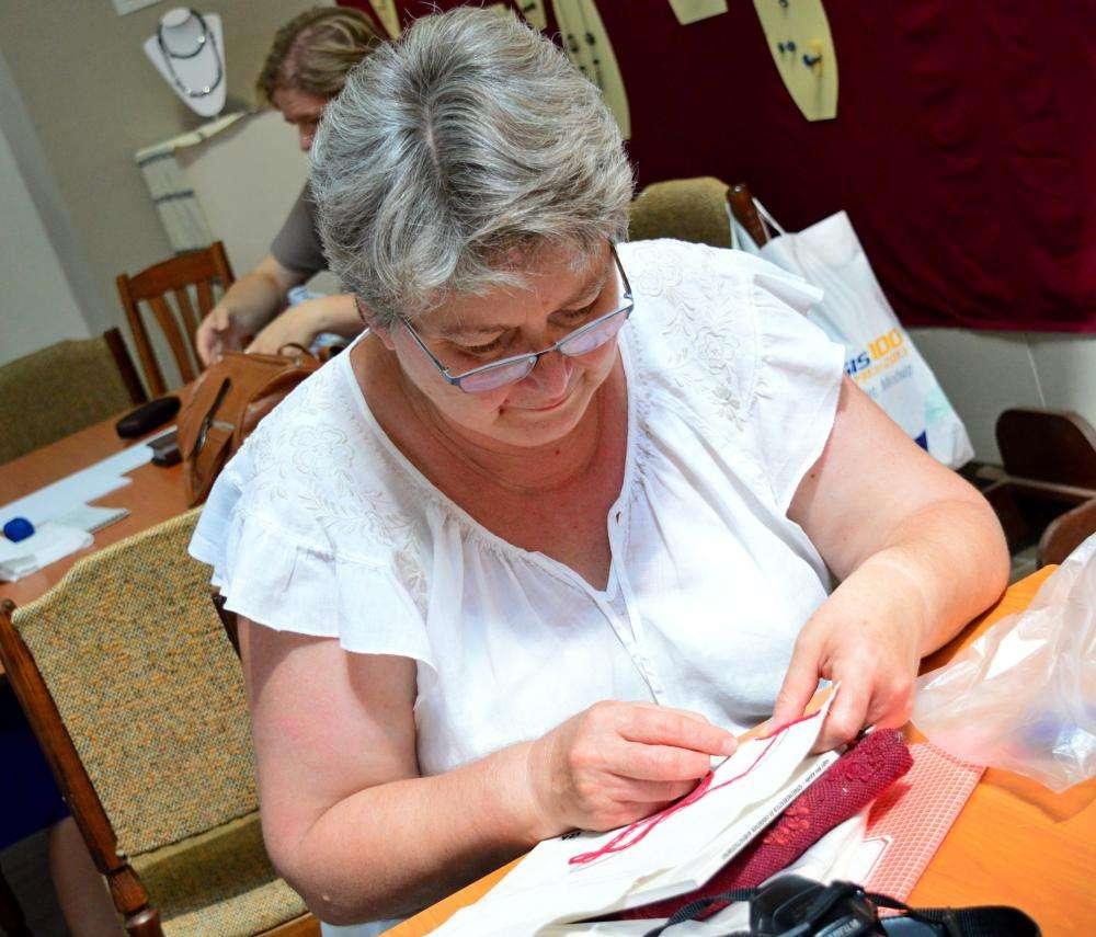 Hímző továbbképzés a Tímárház- Kézművesek Házában