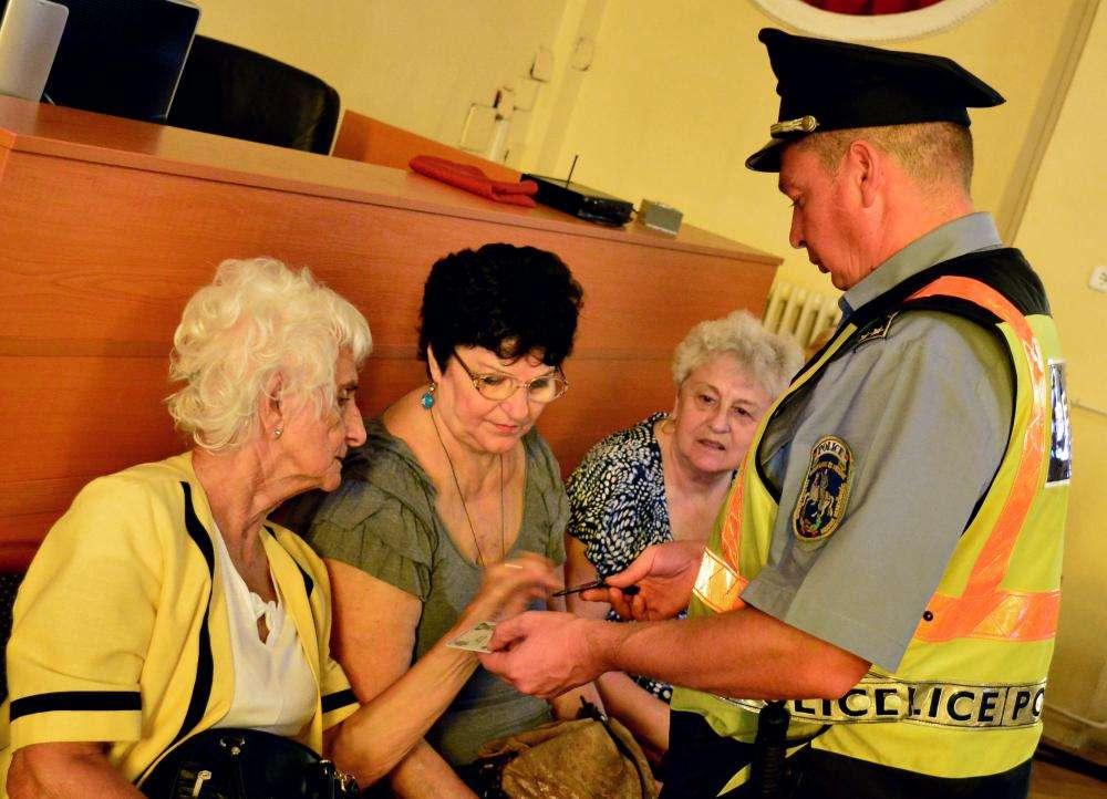 BIZTONSÁGUNKÉRT - rendőrségi előadás