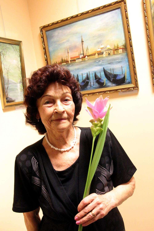 55 - Kökényné Szarka Emma kiállítása