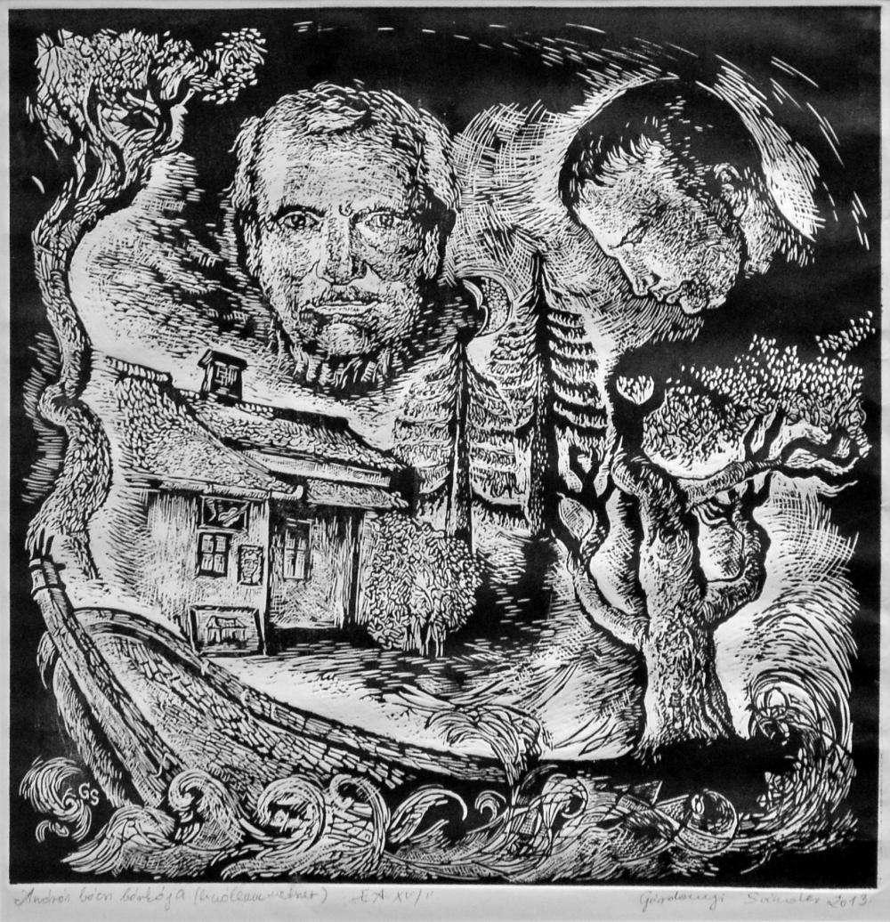GÁRDONYI SÁNDOR GRAFIKUS-TANÁR KIÁLLÍTÁSA A VÁROS NAPJA ALKALMÁBÓL