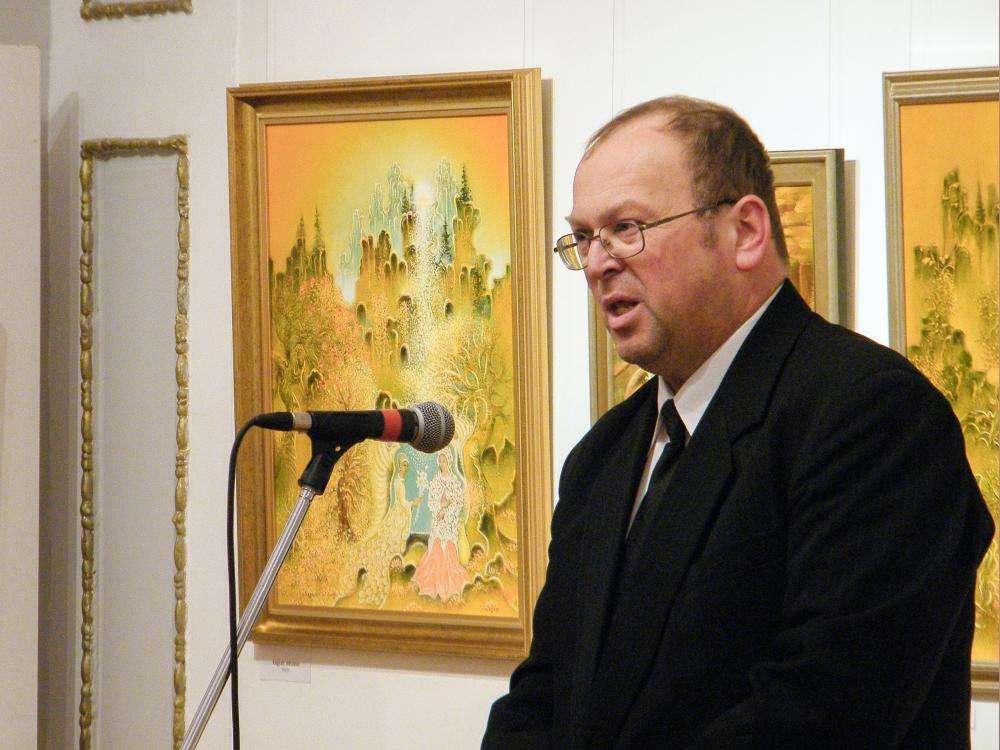 ISTEN KERTJÉBEN - Szőnyi Sándor Holló László-díjas festőművész jubileumi kiállítása