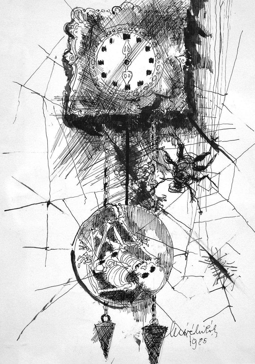 MÓRÉ MIHÁLY Csokonai-díjas grafikusművész emlékkiállítása