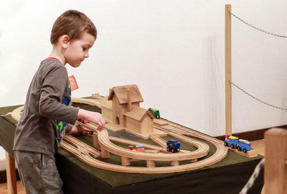 TAVASZI ZAKATOLÁS - vasútmodell és terepasztal kiállítás