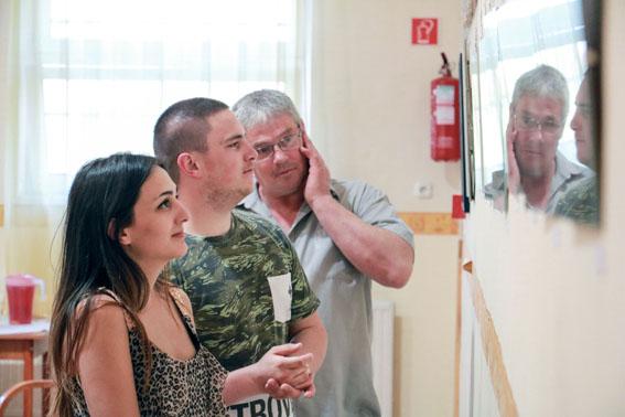 """""""AZ ÉN VILÁGOM"""" - Dallos-Nagy Ildikó kiállítása"""