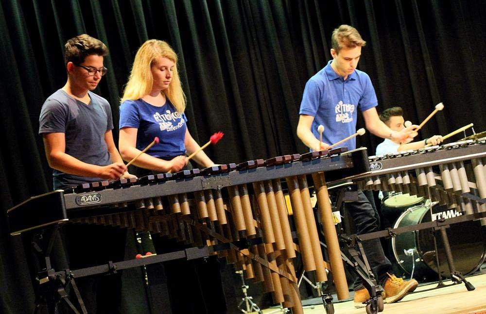 Ritmico Ütőegyüttes koncertje a zenei világnap alkalmából