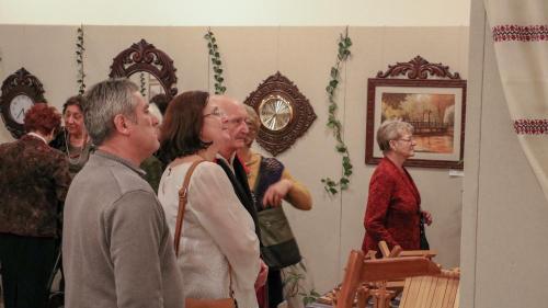 Nagy Sándor fafaragó népi iparművész életmű kiállítása