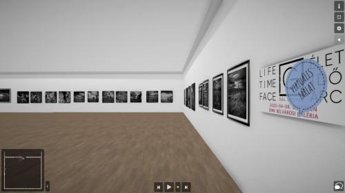 Élet - Idő - Arc. Online beszélgetés Gál Andrással virtuális tárlatáról