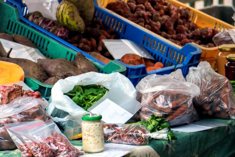 SZATYOR: Különféle termelői finomságok egy korábbi Szatyor alkalmával