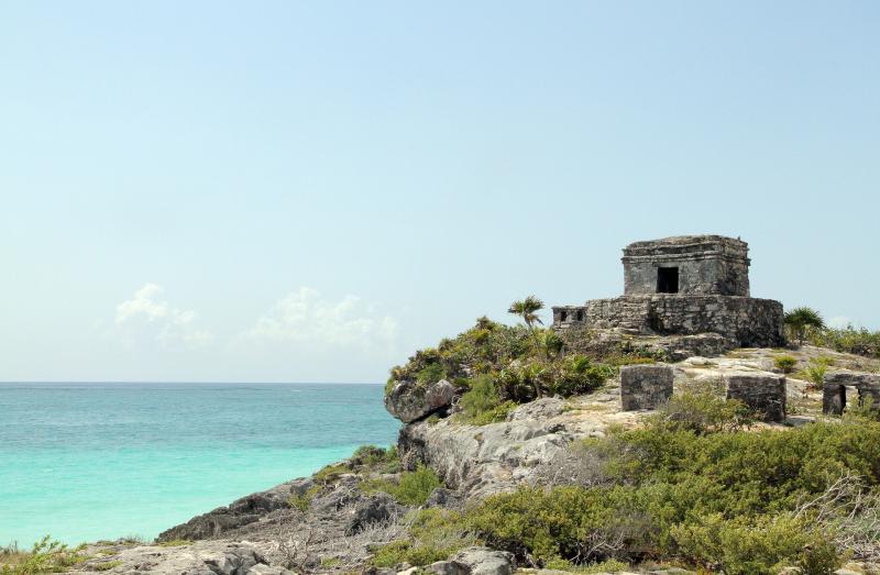 YUCATÁN-FÉLSZIGETI ÚTI ÉLMÉNYEK, AVAGY MAJA FÖLD CSODÁI: Illusztratív fotó a Yucatán-félsziget egy szeletéről a parton