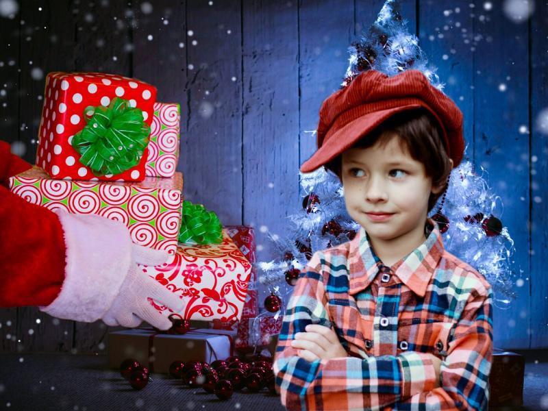 MÓKÁS MIKULÁS A ZENEBÖLCSIBEN: Illusztratív fotó az ajándékozó télapóról