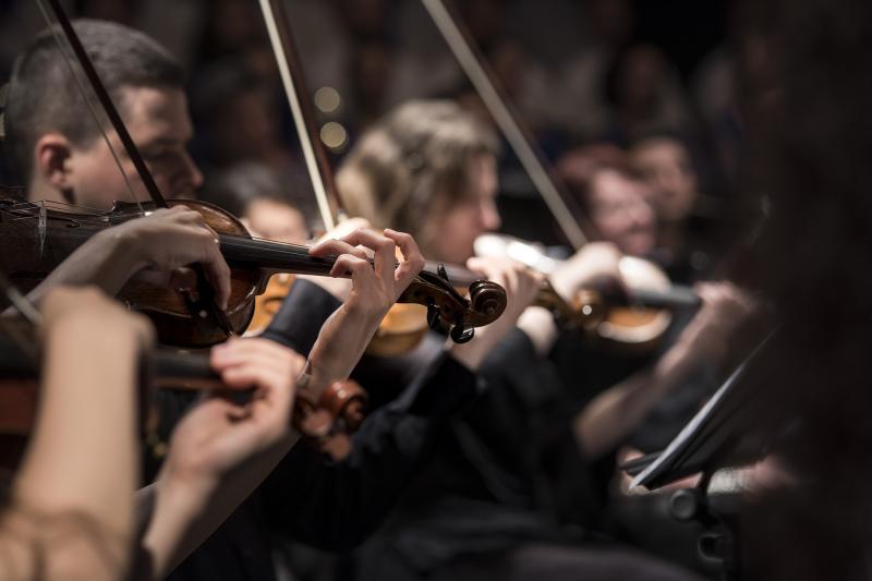 TEMATIKUS ÉLMÉNYKONCERT ÁLTALÁNOS ISKOLÁSOKNAK: Illusztratív fotó egy komolyzenei koncertről
