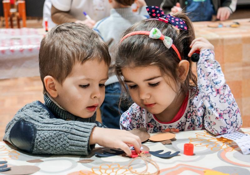 Rókavár játszóházi foglalkozás gyermekeknek