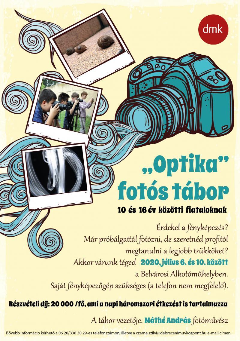 Optika fotós tábor